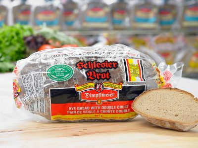 Schlesier Brot - Rye Bread with Double Crust