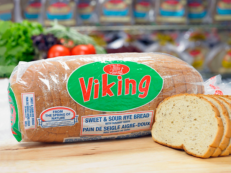 Viking Sweet & Sour Rye Bread